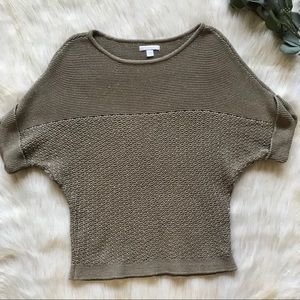 New York & Co Doleman Sleeve Knit Sweater